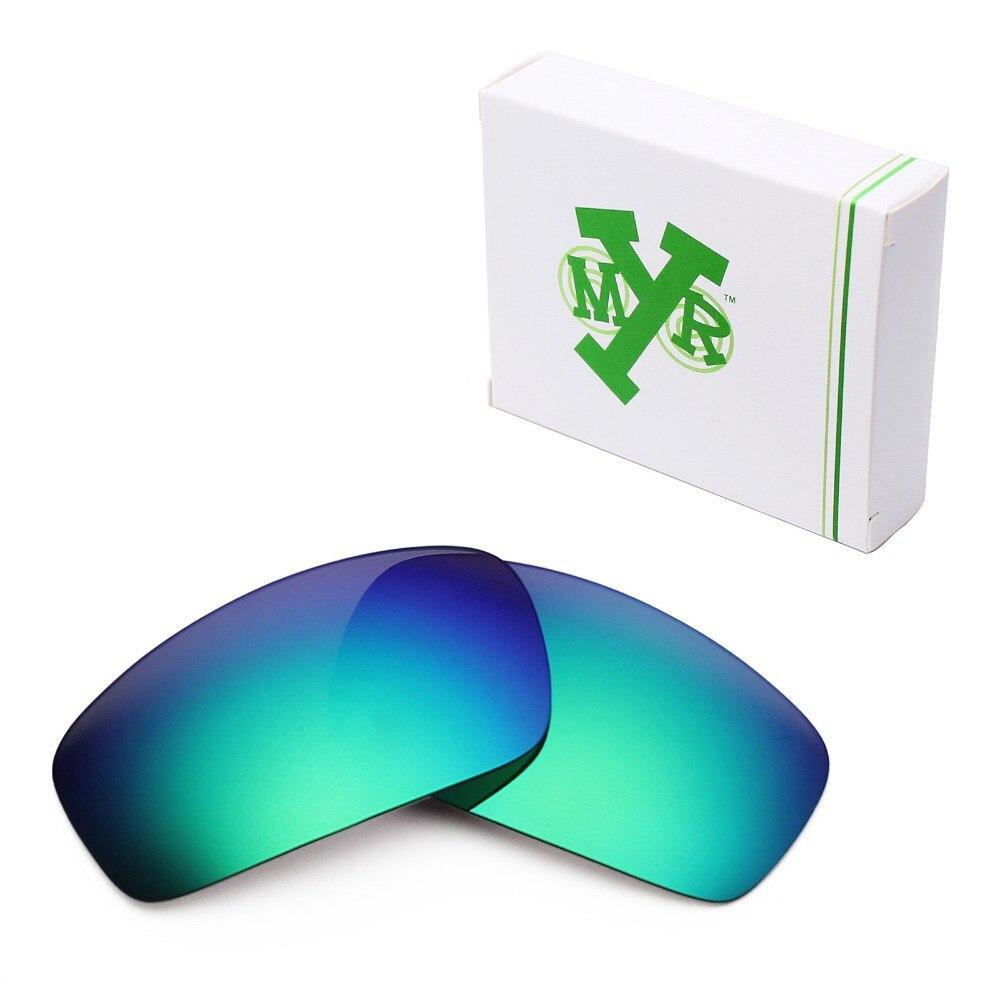 Mryok polarizado Objetivos para Oakley Monster PUP Gafas de sol verde  esmeralda 39aa3bb875
