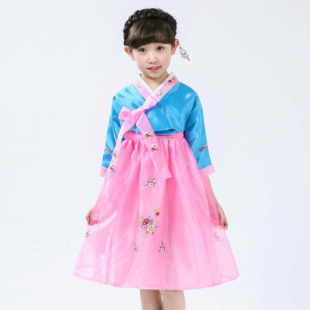 ff5b1ae5d Online Shop Multicolor Girl Korea Traditional Costume Child ...