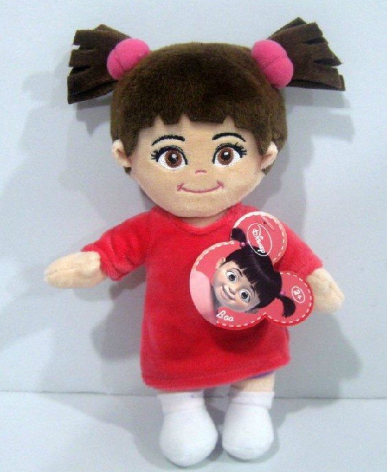 Free Shipping 1pcs Monsters Inc Toy 20cm Little Girl Boo Plush Toy