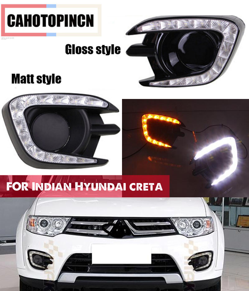 Matt or Gloss style for Mitsubishi Pajero Sport Montero Sport 2013 2014 2015 12v LED CAR