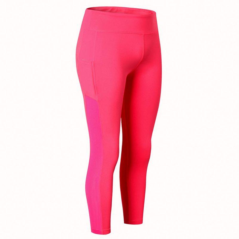 <+>  Летние женские йога-леггинсы Push Up Талия Фитнес Брюки эластичные брюки Леггинсы Mujer быстросохнущ ①