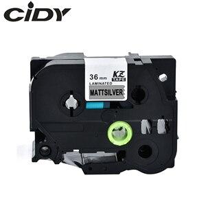 Image 1 - Cidy 5 pces compatível p touch tze etiqueta fita 36mm tz m961 tze M961 preto em mattesillar para impressora irmão