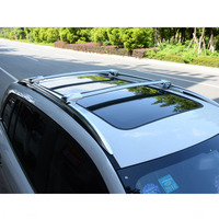 Wholesale aluminum alloy cross bar sliver and black colour roof rack for SANTAFE 06-09