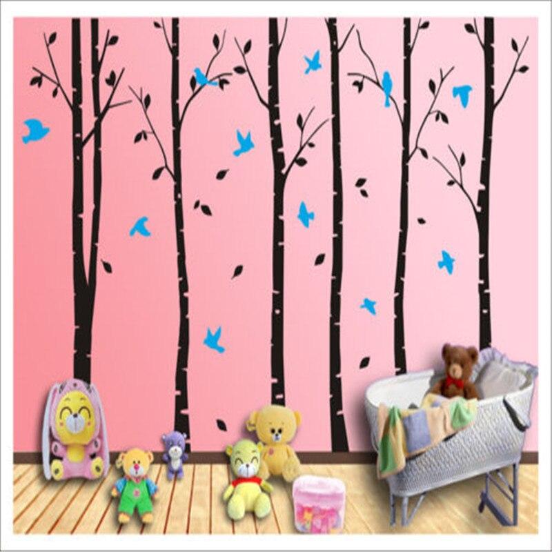 Superbe arbre branche mur Art décalcomanie amovible vinyle autocollants Mural décor à la maison salon mur autocollant décoratif Art