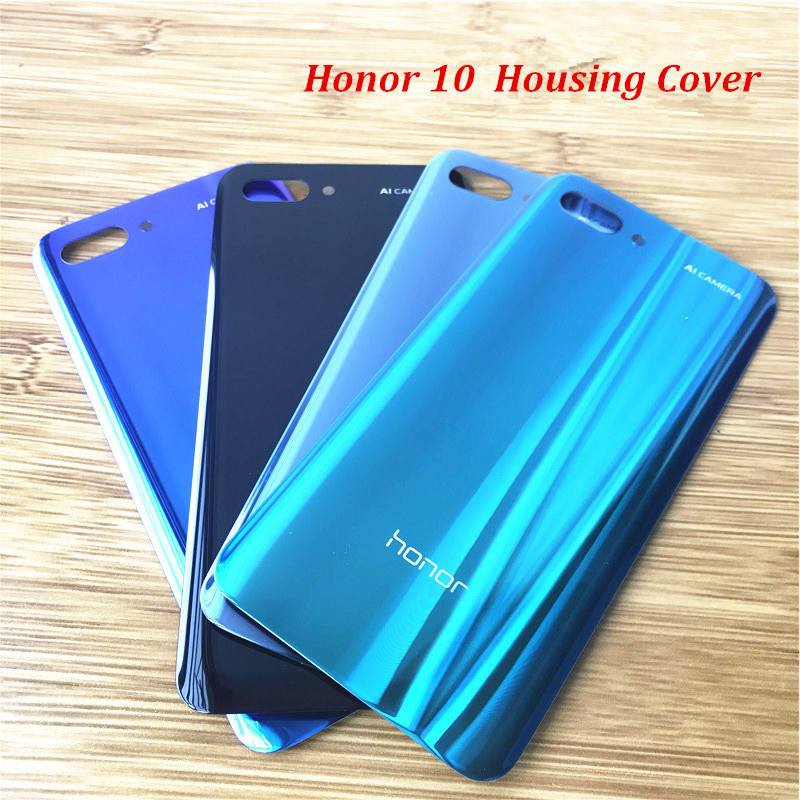 Case Housing-Cover Glass-Shell-Replacement Adhesive Rear-Battery-Door Huawei Honor 10-Back