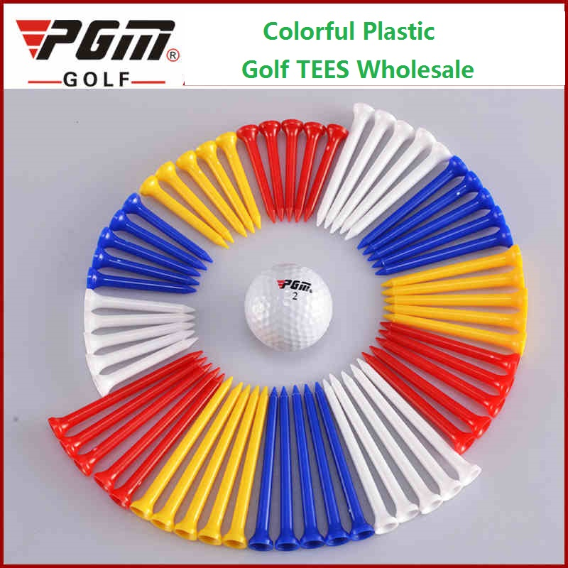 100 Pieces of PGM Tees Free Shipping. Colorful Plastic Golf TEES plastic golf tees bulk golf tees plastic wholesale