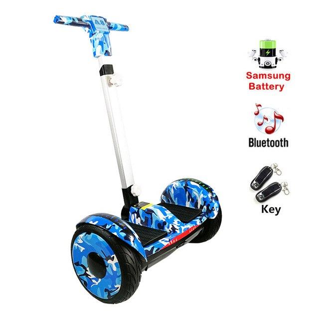 REBORN BORAD A8 hoverboard électrique scooters Planche À Roulettes Hoverboard avec poignée Bluetooth Auto Équilibrage Scooter pour Enfants