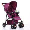 2016 Hot venta Ultra ligero cochecito de bebé plegable del carro de bebé paisaje alta bebé cochecito del bebé cochecito