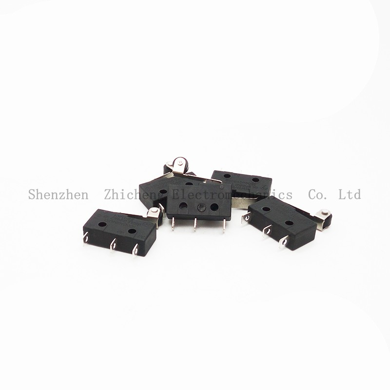 10pcs Tact Switch KW11-3Z 5A 250V Microswitch Round Handle 3PIN