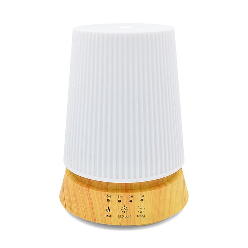 350 ml humidificateur d'air 100 v-240 v arôme électrique diffuseur d'huile essentielle humidificateur à ultrasons arôme diffuseur brume pour la maison bois
