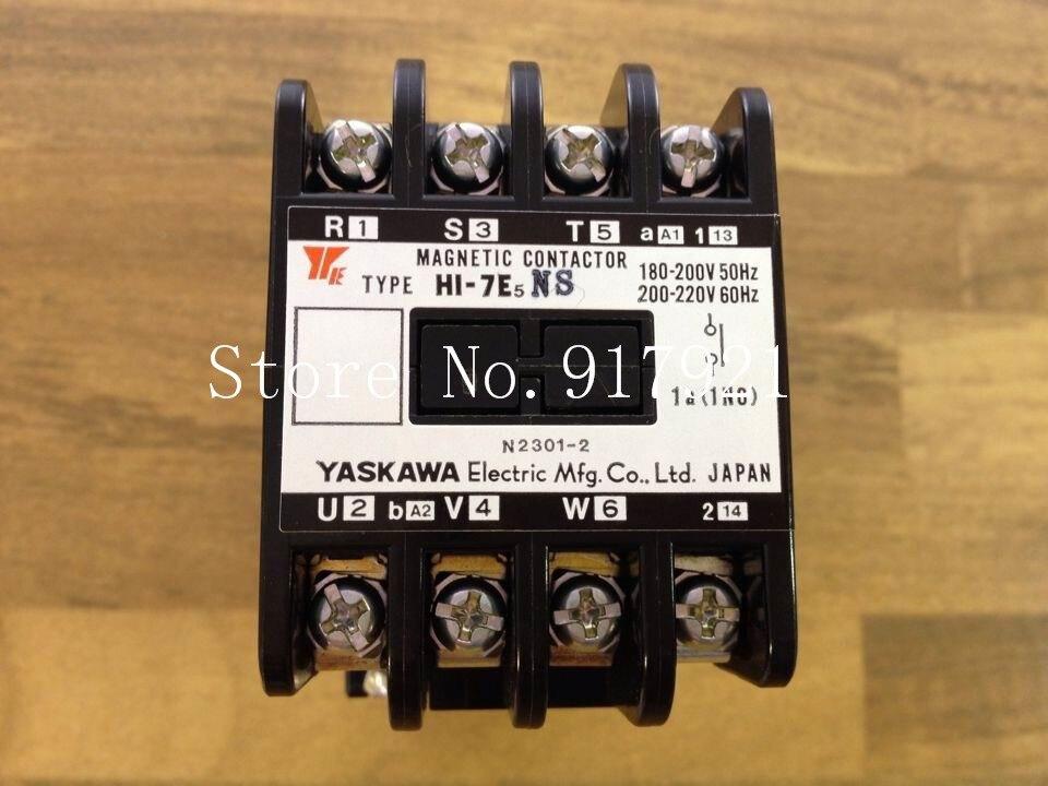 все цены на [ZOB] Japan's YASKAWA H1-7E5NS 220V 4A 20A Yaskawa AC contactor genuine original --3pcs/lot онлайн
