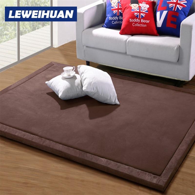 LEWEIHUAN 2 センチベビープレイマットサンゴフリース毛布ゲームカーペットリビングルーム子供敷物環境にやさしい毛布ギフト  グループ上の おもちゃ & ホビー からの プレイマット の中 1