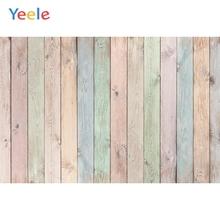 Yeele Colorful Wooden Board Planks Texture Pet Grunge Portrait Photography Background Photographic Backdrops for Photo Studio yeele rose flower simple wooden board texture planks goods show photography backgrounds photographic backdrops for photo studio