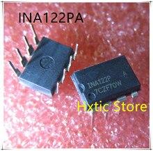 10PCS/lot New original INA122 INA122P INA122PA DIP-8 IC