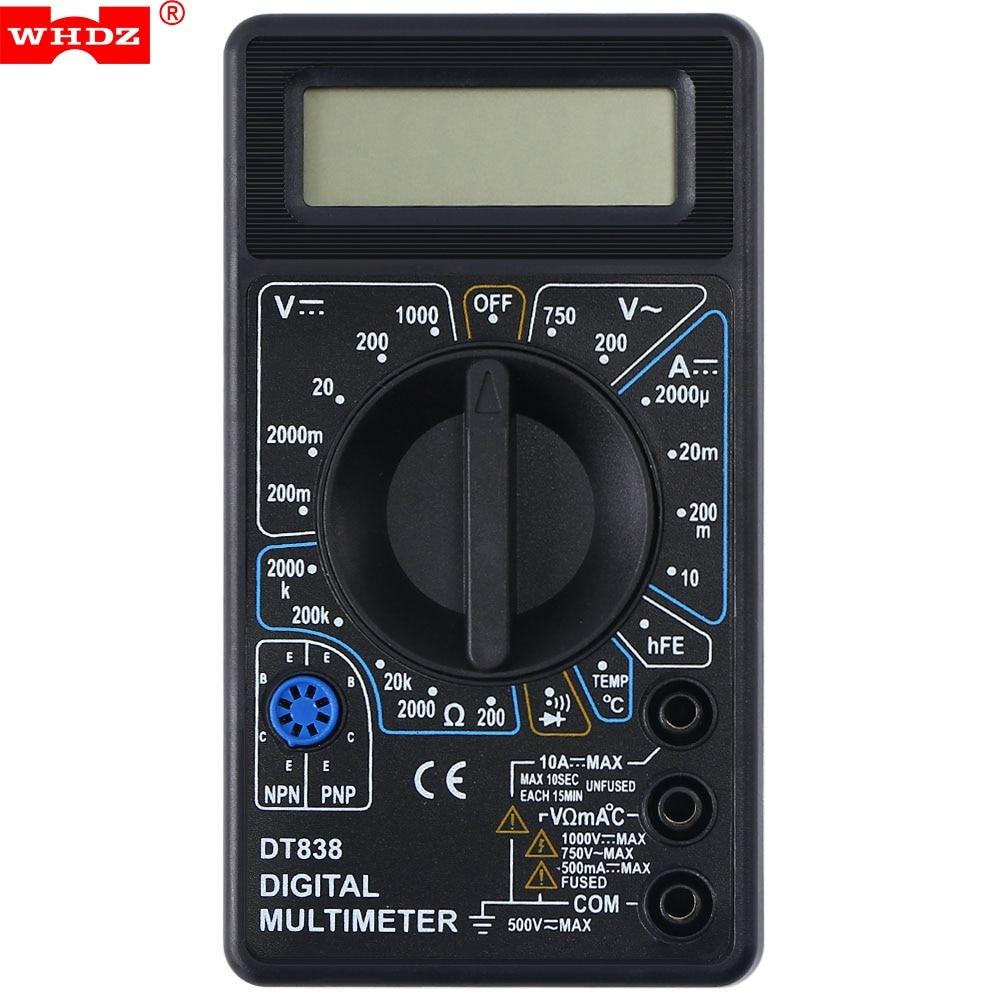 Peakmeter M300 multímetro digital 2000 Counts AC/DC tensión DC corriente resistencia frecuencia prueba de diodo y continuidad