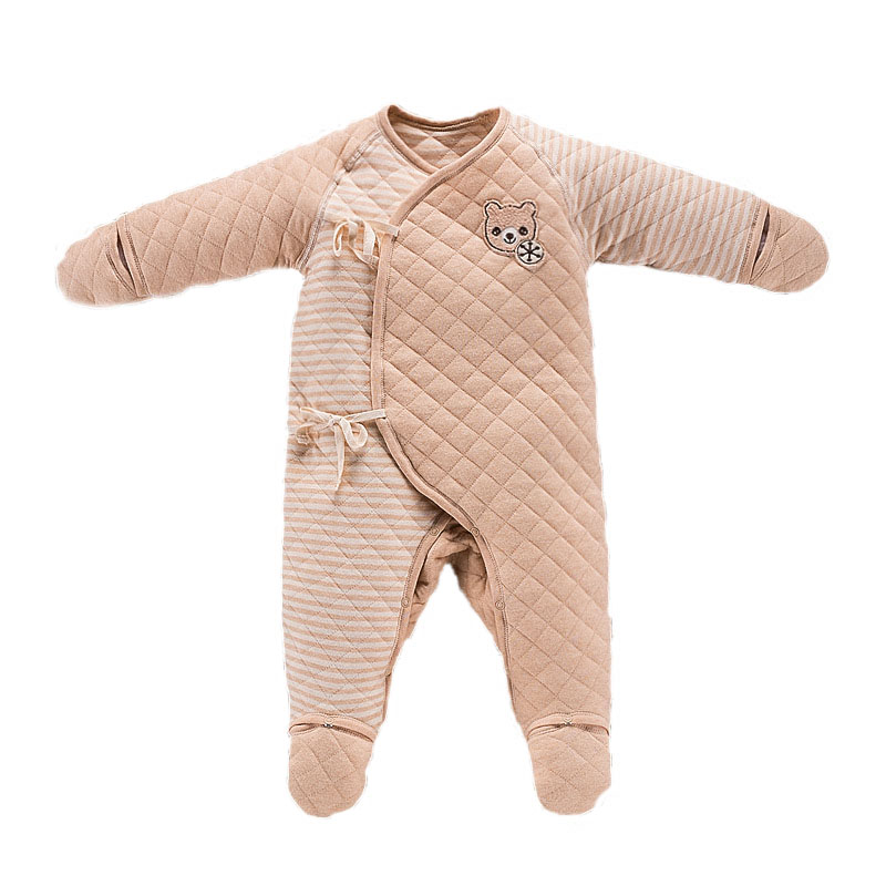 New born Baby Girl Boy Long Sleeve Cotton Footies boxpakje Clothes Infant Unisex Baby Jumpsuit One Piece Onesie Sets Costumes baby rompers 2016 newborn body baby boy girl clothes jumpsuit long sleeve infant onesie product turn down collar romper costumes