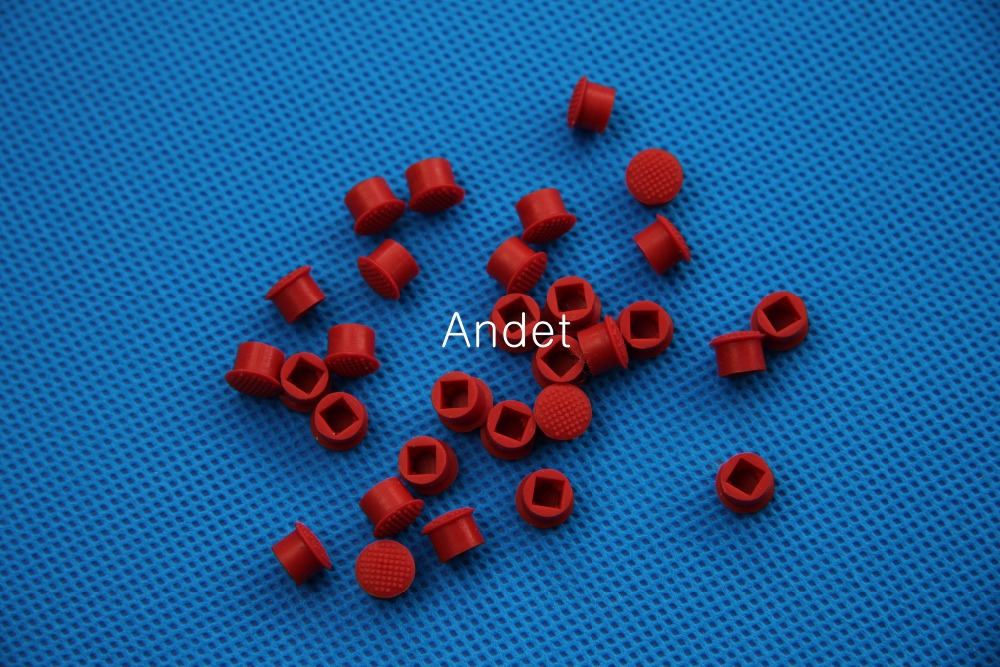 100PCS Trackpoint For IBM Lenovo ThinkPad Red Ball Mouse Point Cap Hat Soft Dome