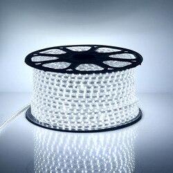 30-100 Mt 60 LEDs/meter Kühle Weiße GEFÜHRTE Streifenlicht Ultra helle 5050 SMD LED Outdoor Garten Heim Streifen Seil Licht wasserdicht