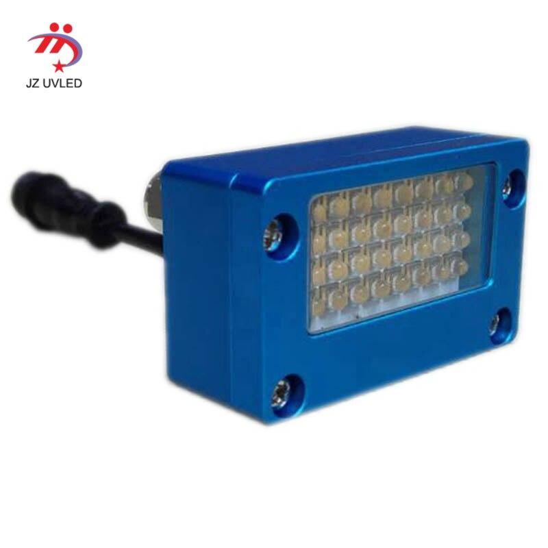 Petite zone UV à plat imprimante LED séchage lampe mobile téléphone shell imprimante encre LED UV GEL Durcissement Lumière eau de refroidissement