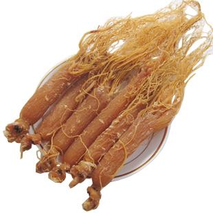 0.5 kg frete grátis 5 anos Raízes de ginseng vermelho da china extrato de Ginseng matterial
