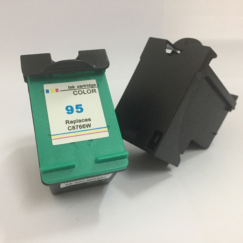Vilaxh compatible Ink Cartridge replacement For HP 95 98 Officejet 100 150 400 H470 6300 Photosmart C4183 C4188 D5160 2570 2575 in Ink Cartridges from Computer Office