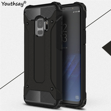 For Samsung Galaxy S9 Case Armor Silicone Hard Anti-knock Phone Cover Youthsay