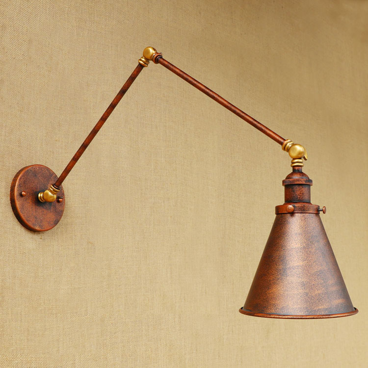 iwhd longo braco lampadas de parede do 04