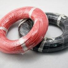 Cable Flexible de silicona de 100 metros y 16 AWG, Cables de cobre trenzados para control remoto