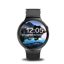 2017 Newest I4 SmartWatch Android 5.1 MTK6580 RAM 1GB ROM 16GB  Heart Rate Monitor Smart Watch with 3G WiFi GPS vs Amazfit KW88