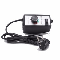 Hon Guan Variable 15A Fan Speed Controller 220V For Hydroponics Inline Duct Fan Exhaust With Wire