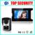 """Nueva llegada 7 """"de vídeo en color teléfono de la puerta con cable pueblo videoportero puerta bell video opcional lector de tarjetas rfid de control de acceso"""