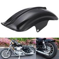 Black Plastic Motorcycle Rear Mudguard Fender For Harley Sportster Solo Bobber Chopper Cafe Racer 883 883R