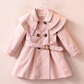 New Designer 2017 children's Girls clothes autumn girls trench coat jacket children jacket coat