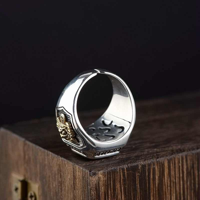 BALMORA 100% リアル 925 スターリングシルバー象眼細工のジルコンサイズ変更可能な男性のファッションシルバージュエリー Anillos SY22280