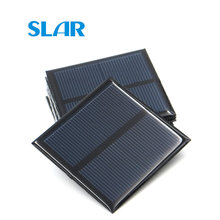 1V 1.5V 2V 3V 3.5V 4V Solar Panel 100mA 120mA 150mA 250mA 300mA 350mA 435mA 500mA Mini Solar Battery Cell Phone Charger Portable(China)