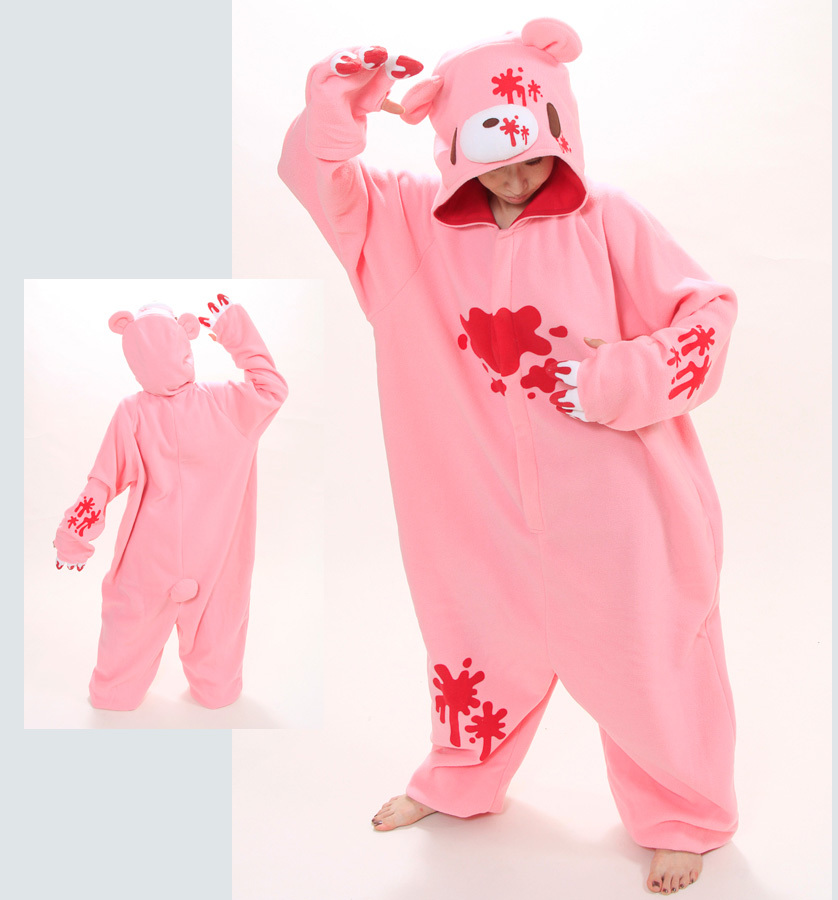 New Anime Pokemon Violent Bear Cosplay Onesies Costume Polar Fleece Pajamas Party Sheepwear Halloween Pijamas Unisex Cosplay