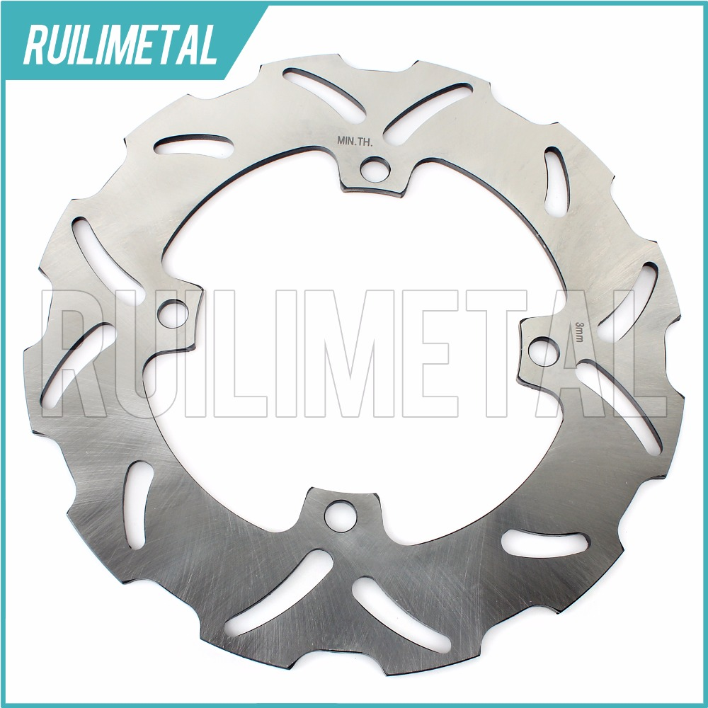 Rear Brake Disc Rotor for KAWASAKI KX125 KX 125 KX250 KX 250 450 F  KLX R 2007 2008 2009 2010 2011 2012 2013 2014 2015 2016 car rear trunk security shield shade cargo cover for hyundai tucson 2006 2007 2008 2009 2010 2011 2012 2013 2014 black beige