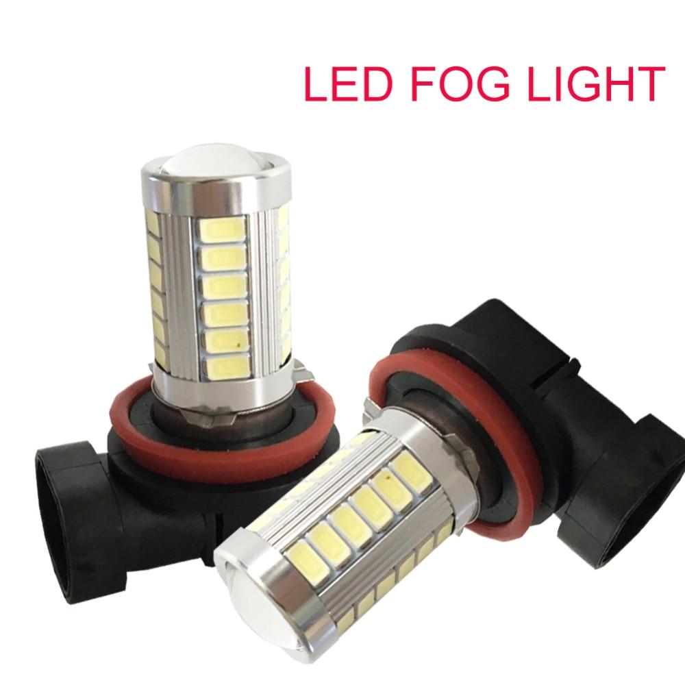 H7 LED 33SMD висока мощност дневна - Автомобилни светлини - Снимка 2