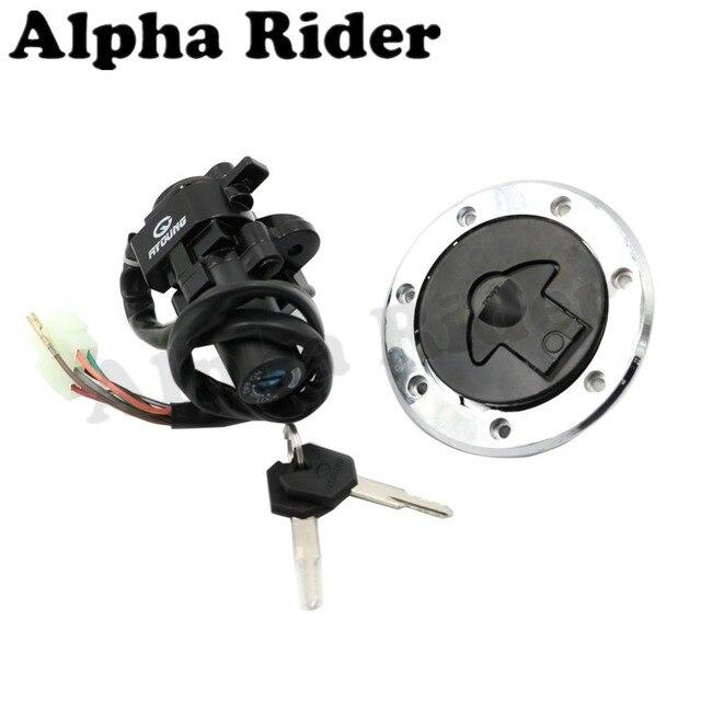 Ignition Switch Deutsch 1996 Honda Civic Alarm Wiring Diagram Fuel Gas Tank Cap Cover Lock Key For Yamaha Fz07 Fz 07 2015 2016 Fz6r 2004 Yzf R1 1998 2003 R6 1999 2005