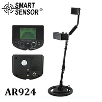 Smart Sensor AR924 Underground Metal Detection Depth 1 5m Chargeable For Gold Digger Treasure Hunter Industrial