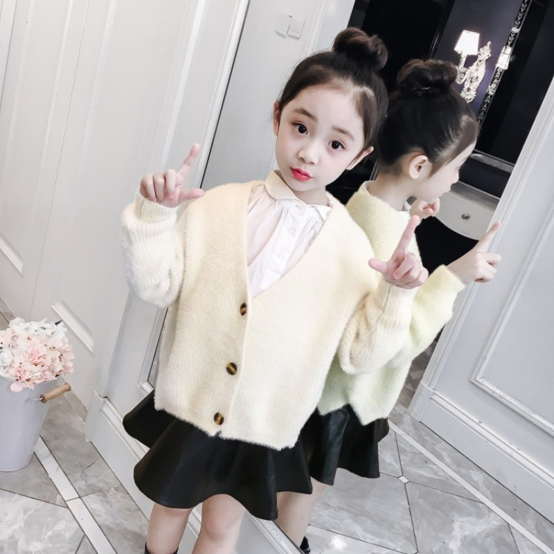Baby Girl Sweater 2 3 4 5 6 7 8 9 Years Boy Cardigan 2018 New Fashion Toddler Girl Long Sleeve Korean Style Children Clothing 2018 new autumn winter baby girl sweater casual style girl cotton cardigan long sleeve o neck solid bow pattern children sweater