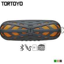 Out of doors Sports activities Moveable Waterproof Stereo Encompass Subwoofer Wi-fi Bluetooth Speaker Assist Handsfree TF Card FM Radio AUX