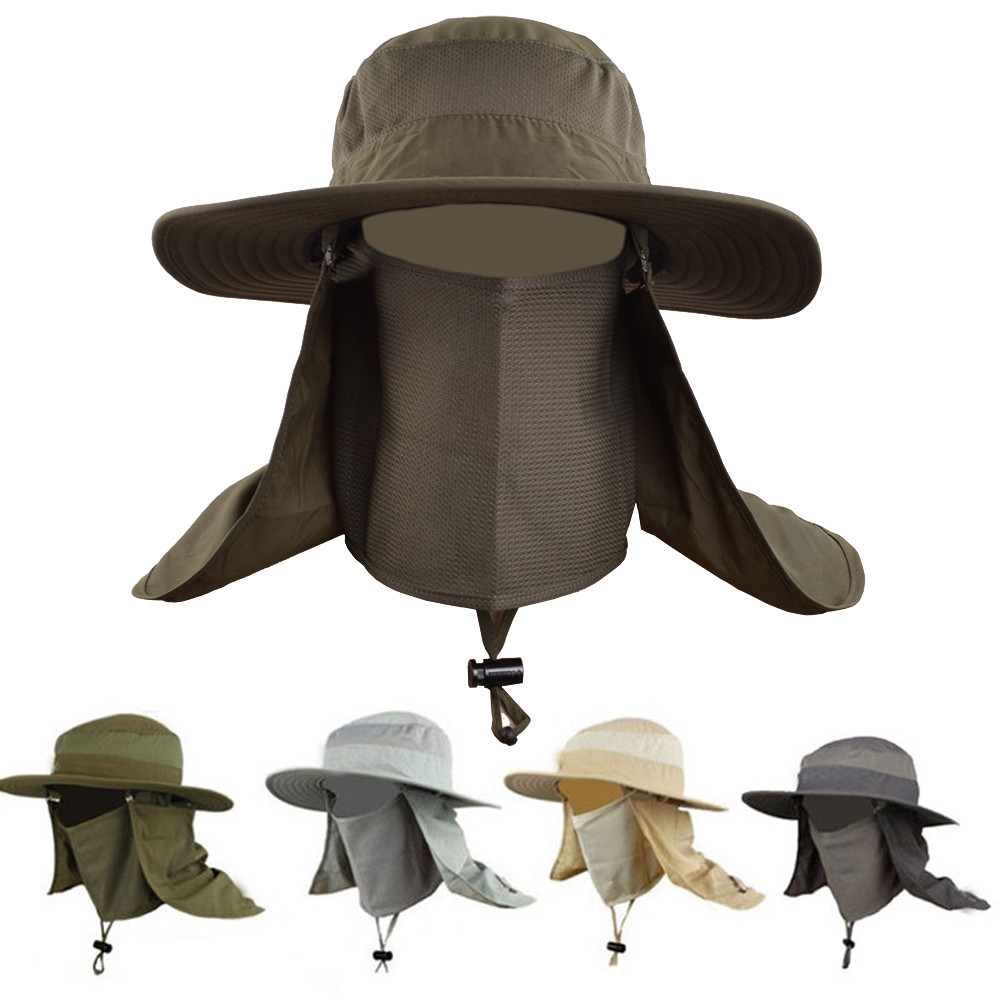 Bucket Hat Style Crushable Waterproof Waxed Country Festivals Black UK 57-60cm