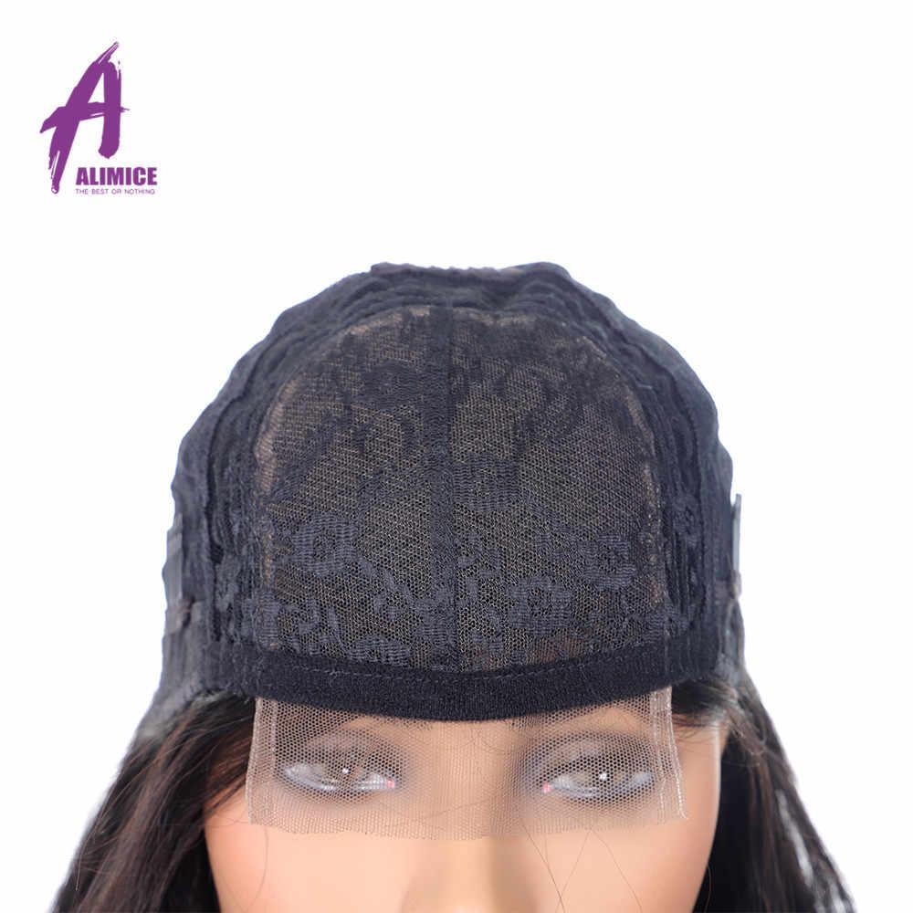 Монгольский 4x4 парик с прямыми кружевами 8-24 дюймов 180% густые натуральные волосы парики предварительно сорванные с волосами младенца кружевно парик с волосами Реми алимис