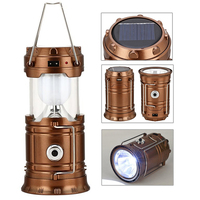 Portable Solar Lantern LED Camping Light Rechargeable Built In Lithium Battery Hand Lamp Outdoor Camping Lanterna
