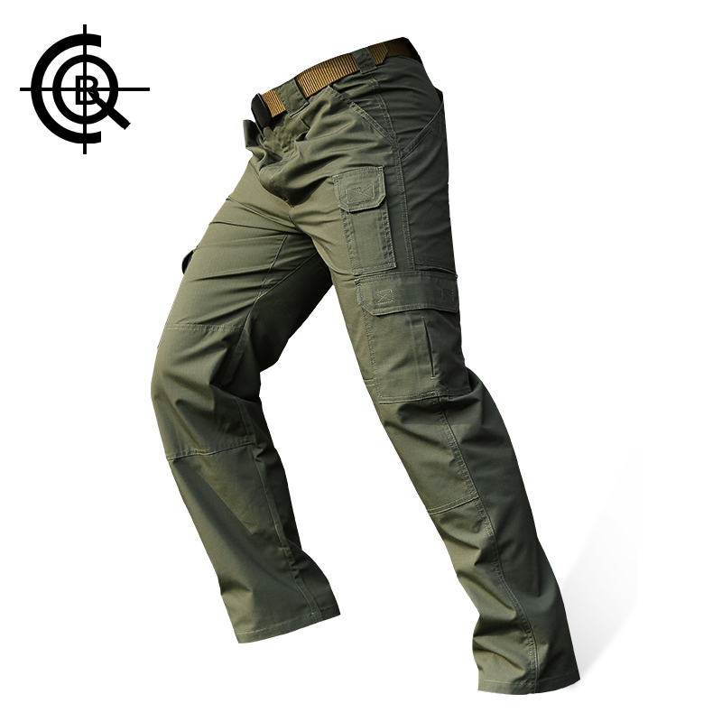 CQB Traveling Pants Men's Tactical Pants Anti-scrape S-5XL Water-repellent Trousers Camping Hiking Climbing Outdoor Pants KZ0065 mens ripstop tactical pants outdoor camping water repllent hiking pants urban sports trousers army green