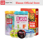 ELASUN 64PCS Multiple Types Ultra Thin Condoms Ice and Fire Dotted Pleasure for Her Natural Latex Rubber Condom for Men