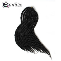 Hot Havana Mambo Twist Crochet Braid Hair 18 Inch Synthetic Two Tone High Temperature Fibre Kanekalon