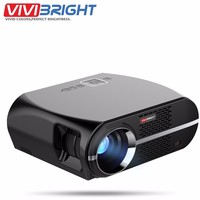 VIVIBRIGHT GP100 UP LED Projector Android 6.0.1 1280x800 3200 Lumens WIFI Bluetooth Home Theater Projector 1080p HD Movie Beamer