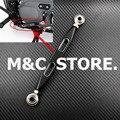 Negro de la motocicleta CNC Palanca de cambios Shift Vinculación 220mm para Harley sportster 883